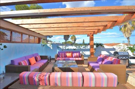 BBQ Seating Area