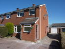 3 bed semi detached property to rent in Burnell Close Bayston...