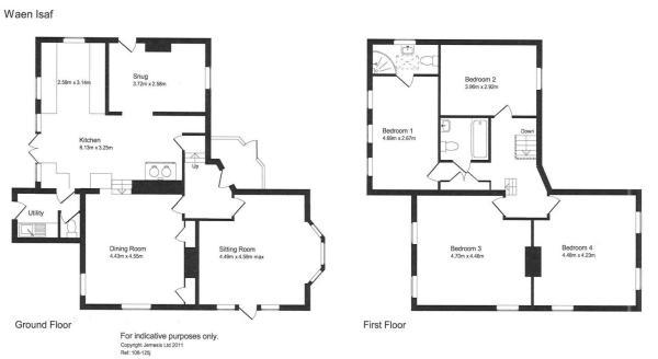 Waen Isaf Floorplan