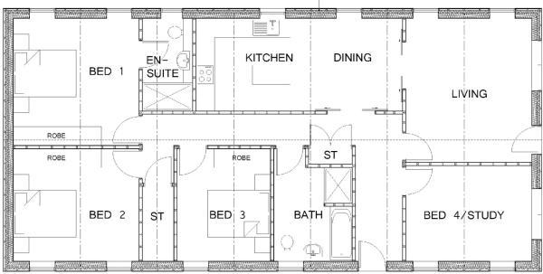 Barn 9 - Proposed