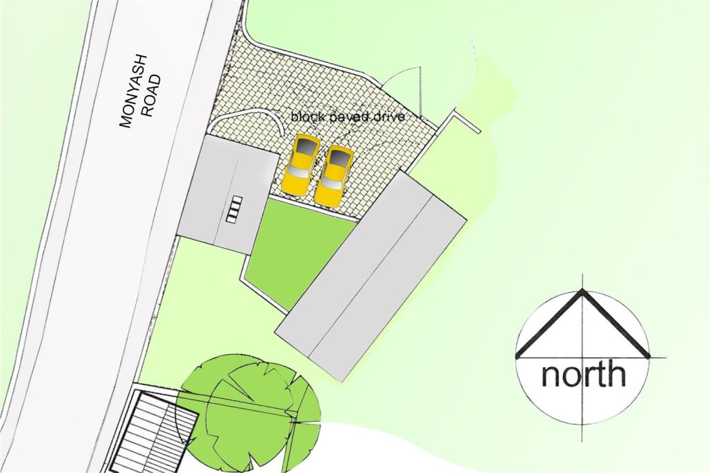 Close Up Site Plan