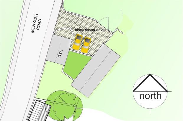 Close Up Site Plan