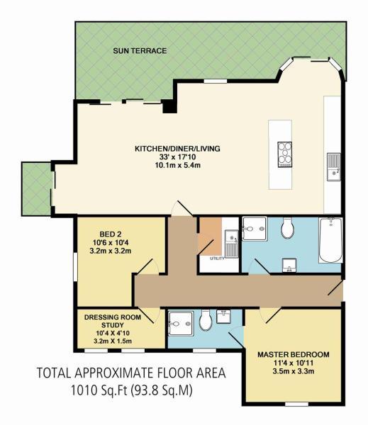 Apartment 2 Floor Pl