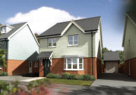 4 bedroom new house in Manor Road, Burgess Hill...