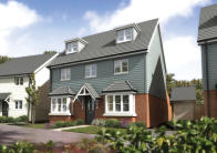 new house in Manor Road, Burgess Hill...