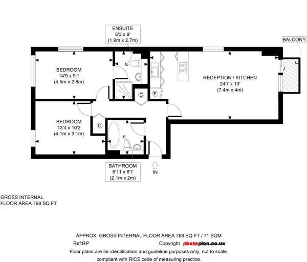Floor Plan 6th floor