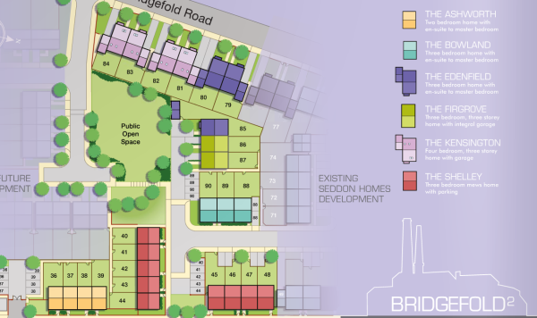 Bridgefold Site Plan