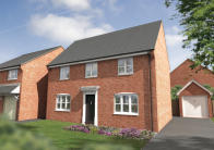 new house for sale in Back Lane, Long Lawford...
