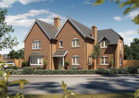 new home in Audlem Road, Woore, CW3