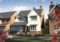 4 bed new house for sale in Audlem Road, Woore, CW3