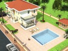 3 bed new development for sale in Aydin, Didim, Green Hill