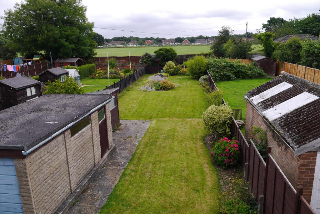 Garden & View To Rear