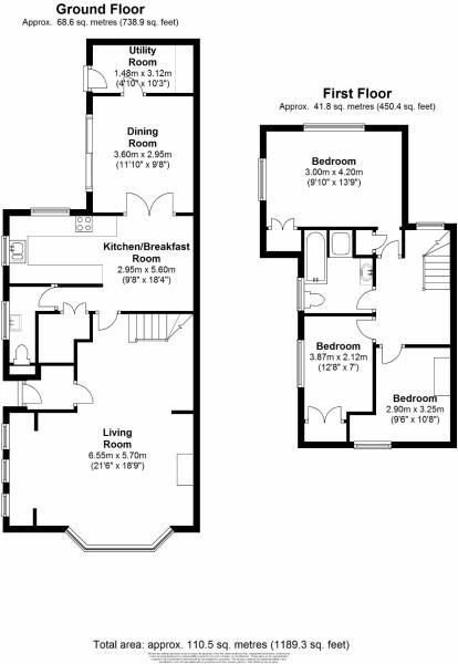 Tudor floorplan