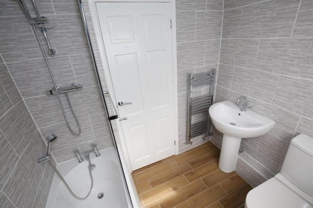 NEWLY-FITTED BATHROO