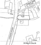 Land for sale in London Road, Bozeat, NN29