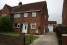 semi detached house to rent in Kirkley Drive, Ponteland