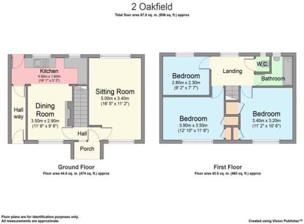 Floorplan Oakfield