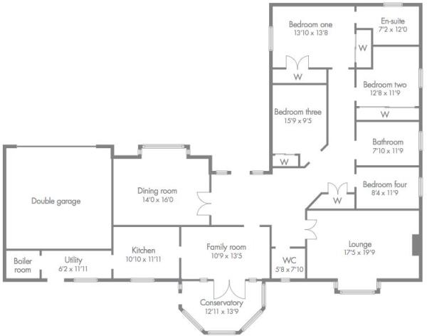 floor plan gill view