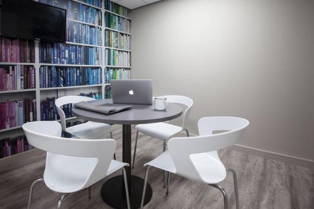 Quiet study rooms