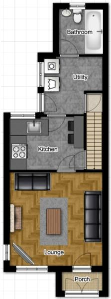 Floorplan, Ground Fl