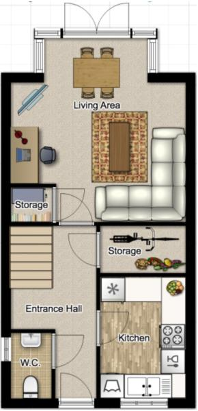 Floor Plan Ground Fl
