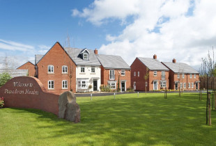 Peasedown Meadows by David Wilson Homes, Wellow Lane,