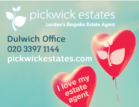 Get brand editions for Pickwick Estates, Dulwich