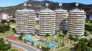 3 bedroom new development for sale in Antalya, Alanya, Alanya