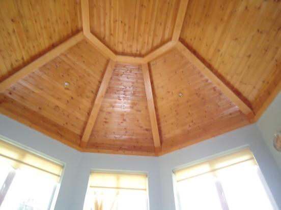 Sun room ceiling