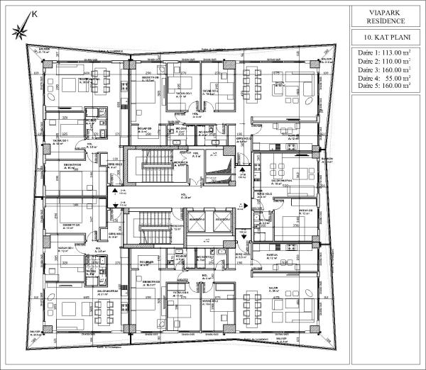 The 10th Floor plan