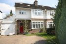4 bed semi detached property in King Charles Road...