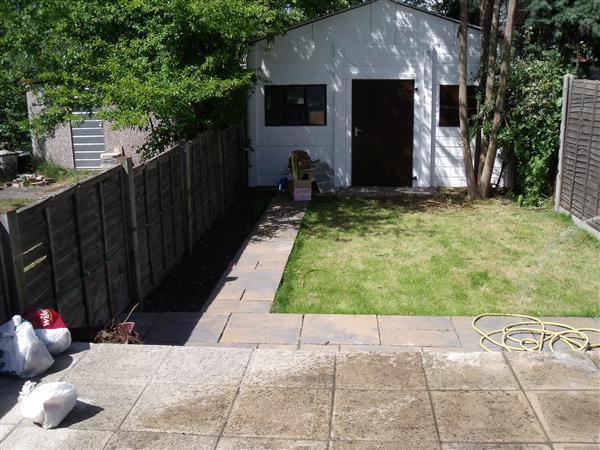 Back Garden & Garage