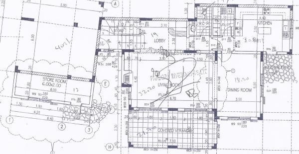 Living area plan