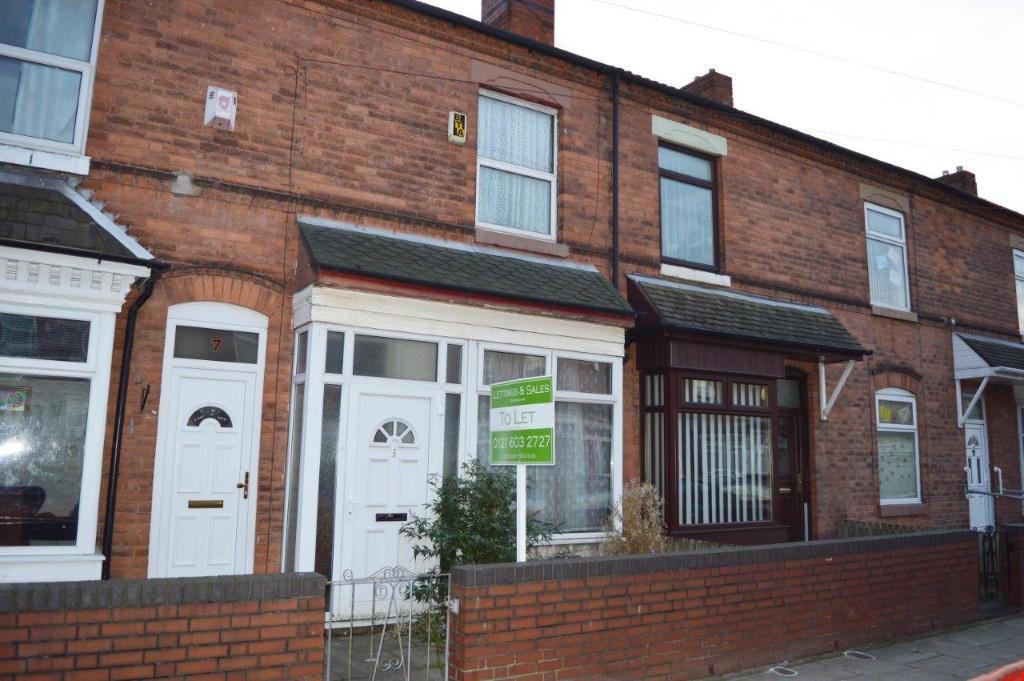 2 Bedroom Terraced House To Rent In Brantley Road Birmingham B6 B6