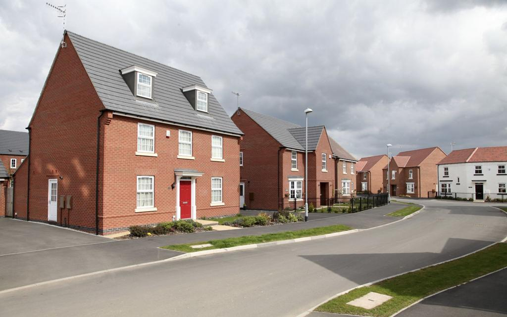 Four bedroom homes at Papplewick Green