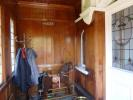 Wood panelled porch