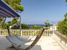 Sea view hammock