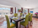 Spacious living-dining room with fireplace, Puerto Alcudia, Mallorca