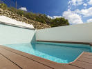 Inviting exterior of a beautiful townhouse in Pollensa
