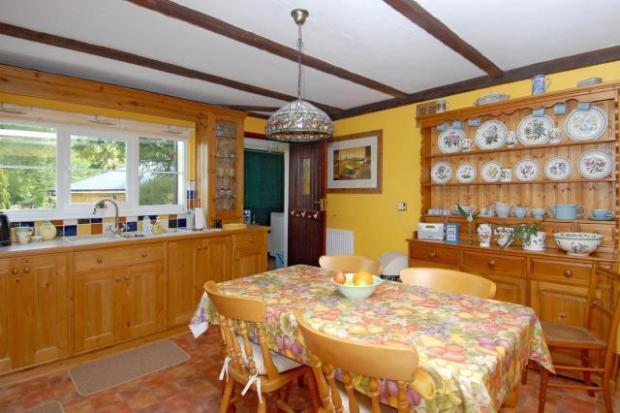 Large Farmhouse-Style Kitchen