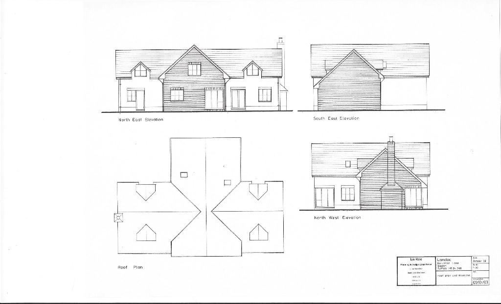 Roof Plan+Elevations