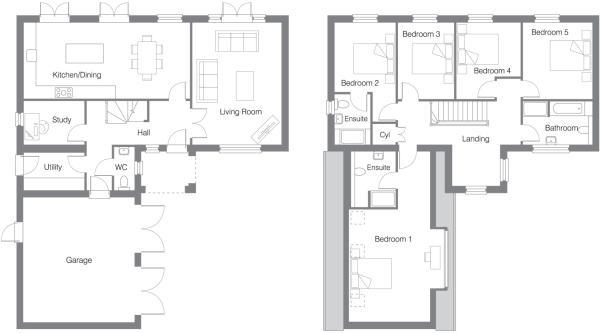 Floor Plan Plot 6