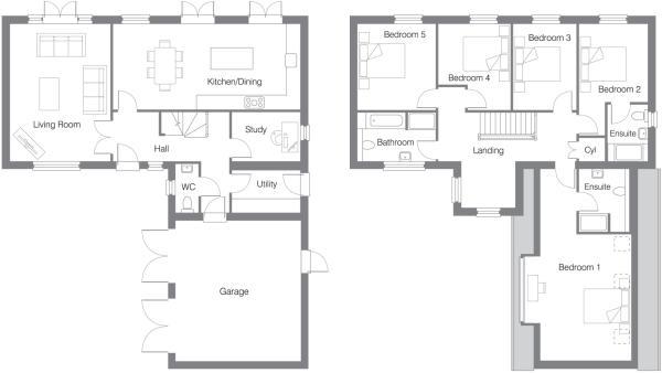Floor Plan Plot 8