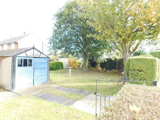 Garage & Side Garden