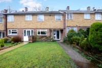 Terraced home for sale in Walnut Close, Yateley