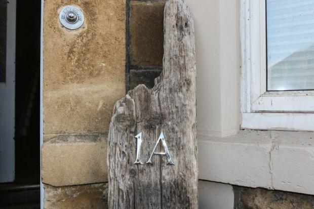 Drift wood sign