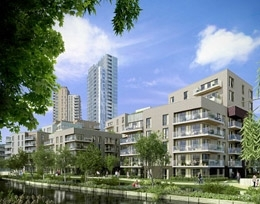 Woodberry Park by Berkeley Homes (North East London) Ltd, Woodberry Grove,