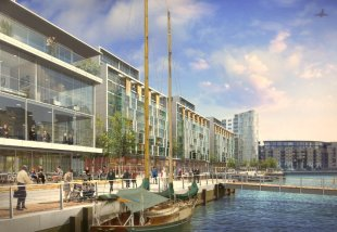 New Capital Quay by Galliard Homes Ltd, Greenwich,
