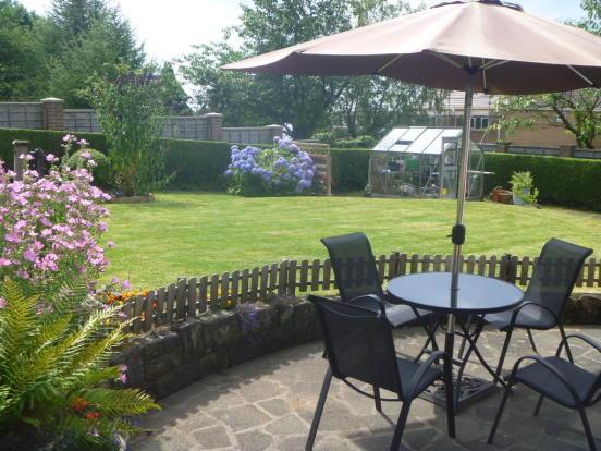 Rear Garden in Su...