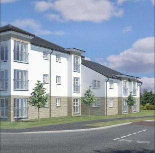 Dovecot Court by Dawn Homes Ltd, Stirling Road,